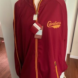 Cavaliers NBA jacket.  Size 4XL.